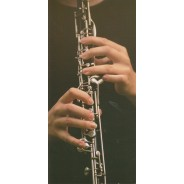 Carte photo clarinettiste