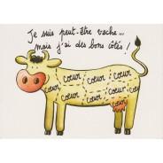 Carte pour humour vache !