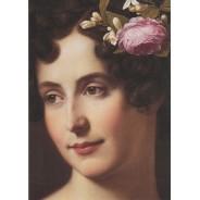 """""""Portrait de Fanny Ebers"""" par Friedrich Wilhelm Von Schadow"""