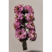 Pivoines miniatures pour scrapbooking et décorations  tous supports