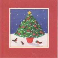 Sapins de Noël déclinés en 4 modèles  différents.