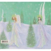 """""""Anges de Noël"""", jeu de 2 cartes"""