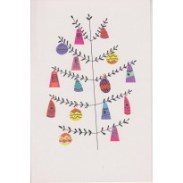 Jeu de 5 cartes de Noël variées et colorées