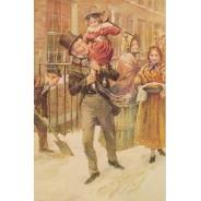 Les Aventures de M. Pickwick, assortiment de cartes de Noël