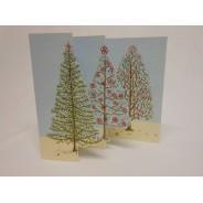 Carte de Noël en 3 volets : modèles au choix