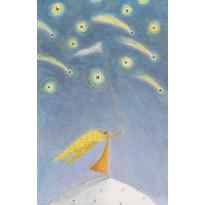 Jeu de 5 cartes de Noël poétiques et féériques