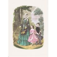 Carte Mode pour enfants 19ème siècle