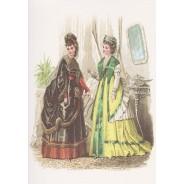 Carte Mode féminine au 19 ème siècle