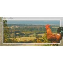 Le Vallon et son Coq, cartes Paysages de France