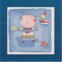 """""""Maman les Petits Bateaux"""" carte d'anniversaire Enfants"""