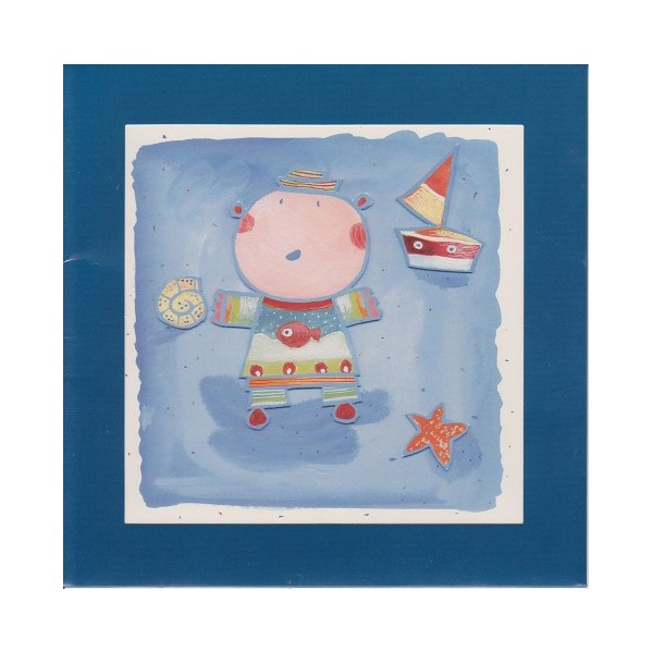 Carte Anniversaire Enfant Maman Les Petits Bateaux Carterie Poitiers