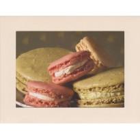 Macarons Framboise et Pistache, carte