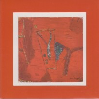 Tableau de Florence ROQUEPLO en carte postale cadre.