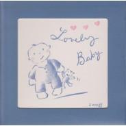 """Carte cadre avec chevalet """"Lovely Baby"""""""