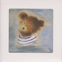 Carte Anniversaire enfant : Ours en peluche, Teddy Bear