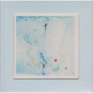 "Carte cadre avec chevalet ""Ciel Bleu"""