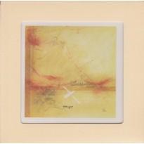 """""""La Mouette passe en criant"""" de Michel Dumont en carte postale cadre."""