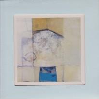 Carte cadre reproduction d'une oeuvre de Michel Brouand