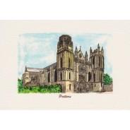 Carte Cathédrale Saint Pierre de Poitiers
