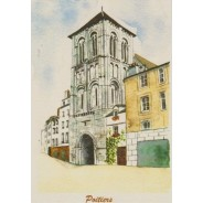 Carte Saint Porchaire de Poitiers rue Gambetta