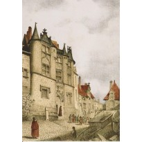 Carte postale La Prévôté  ou Hôtel Fumé à Poitiers