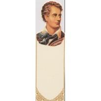 Lord Byron, son portrait en marque-pages - Carterie Poitiers