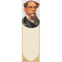 Charles Dickens, son portrait en marque-pages