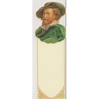 Rubens, portrait du peintre en marque-pages