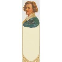 Van Dyke, portrait du peintre en marque-pages