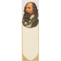 Tennyson, portrait d'un écrivain en marque-pages