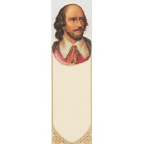 Portrait de William Shakespeare pour un marque-pages