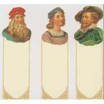 Raphaël, Rubens et Vinci, leurs portraits en marque-pages