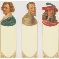 Michel Ange, Van Dyke et Rembrandt en marque-pages.