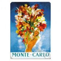 Plaque Métal Monte-Carlo