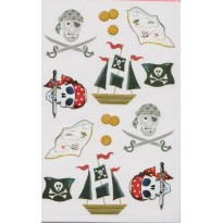 "Stickers ""Les Pirates"""
