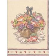 Mini cartes Bouquets de fleurs, cartes doubles