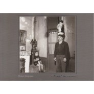 """""""Donio dresseur de chien"""" de Robert Doisneau en carte postale"""