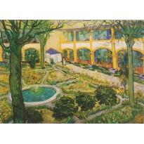 """""""Le jardin de la Maison de Santé à Arles"""" de Vincent Van Gogh"""
