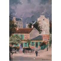 """""""Le Lapin Agile à Montmartre"""" par Michel Delacroix"""