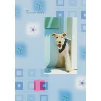 Carte de Bonne Fête avec un chien