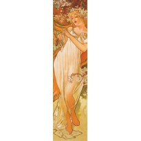 Le Printemps d'Alphonse Mucha, reproduction en marque-pages