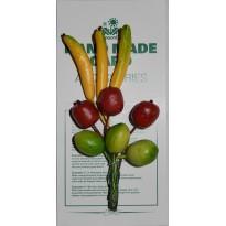 Fruits exotiques miniatures pour scrapbooking et créations cartes.