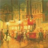 Rue de Londres en 1907