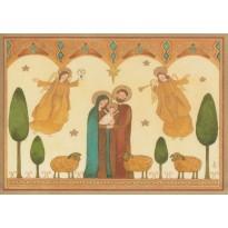 Nativité de Dana Strange, carte de Joyeux Noël -