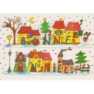 Bonne Année au Village - Carte de voeux