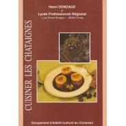 Cuisiner les châtaignes, livre de recettes illustrées