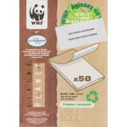 Blocs correspondance papier recyclé 148 x 210