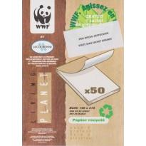 Blocs correspondance papier recyclé