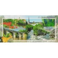 La Gartempe sauvage, carte postale régionale.