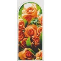 Marque-pages avec Bouquet de roses saumonées